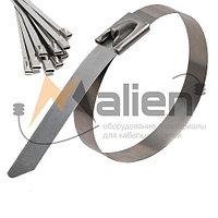 Стяжка стальная СТС 4.6x800 мм (AISI 304) МАЛИЕН арт. 870245