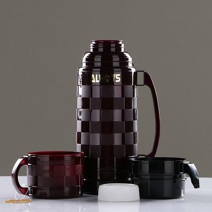 Термос для горячих напитков с двумя кружками Always 1 л, фото 2