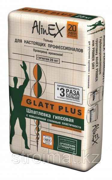 Шпатлевка Glatt Plus Alinex (Глатт Плюс Алинекс)