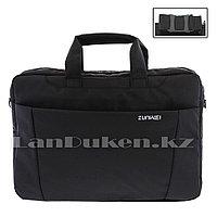 Сумка для ноутбука 15 дюймов Наплечная сумка 30 см х 40 см х 6 см zunwei (черная)