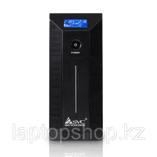 Источник бесперебойного питания SVC W-1000L, Smart, USB, Мощность 1000ВА/600Вт