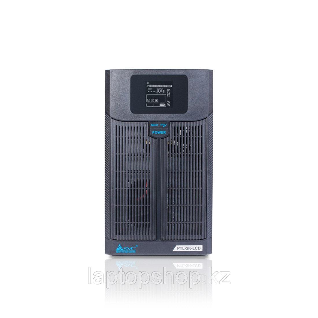 Источник бесперебойного питания SVC PTL-2K-LCD, Мощность 2000ВА/1400Вт