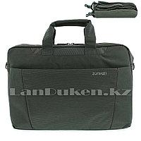 Сумка для ноутбука 15 дюймов Наплечная сумка 30 см х 40 см х 6 см zunwei (хаки)