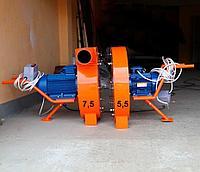 Роторная зернодробилка 7.5 кВт