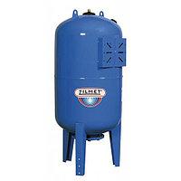 Гидроаккумулятор вертикальный синий Zilmet ULTRA-PRO - 100л. (PN10, мемб.бутил, фланец нерж.ст)