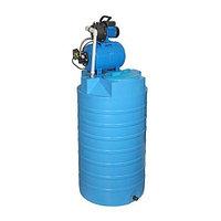 Бак для воды АКВАТЕК ATV 500 (с насоснои? станциеи?, цвет синий)