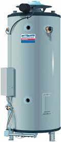 Водонагреватель газовый накопительный American Water Heater BCG3 - 379л. (58,36 кВт)