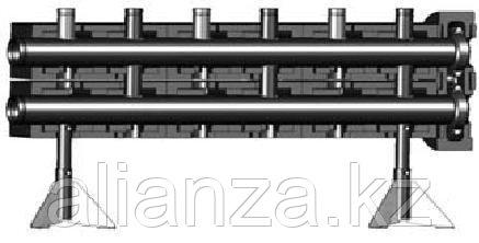 Коллектор распределительный на 3 контура PN10 Meibes Victaulic V 152
