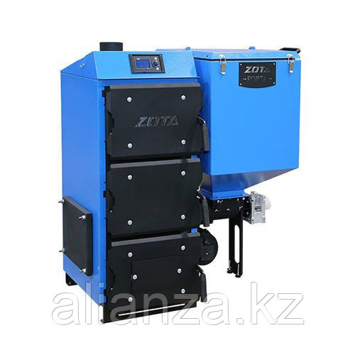Котел твердотопливный ZOTA Forta 12  - 12 кВт (стальной)
