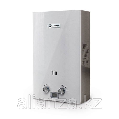 Водонагреватель газовый проточный WERT 12E (цвет серый)