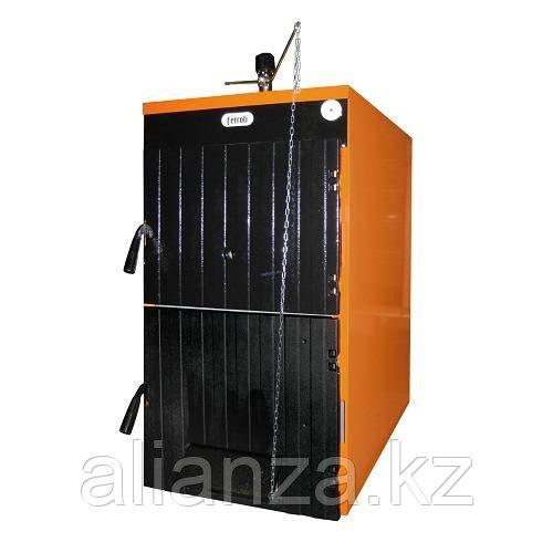 Котел твердотопливный Ferroli SFL 4 - 32,5 кВт (4 секции, чугунный)