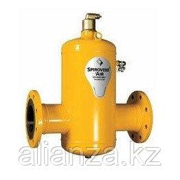Сепаратор воздуха и шлама Spirotech Spirocombi - Ду100 (соединение фланцевое)