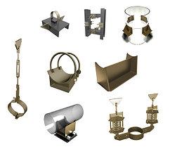Изделия и детали трубопроводов для тепловых сетей Серия 4.903-10 Выпуск 4