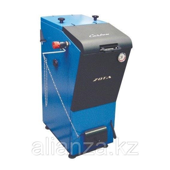 Котел твердотопливный ZOTA Carbon - 26 кВт (стальной)