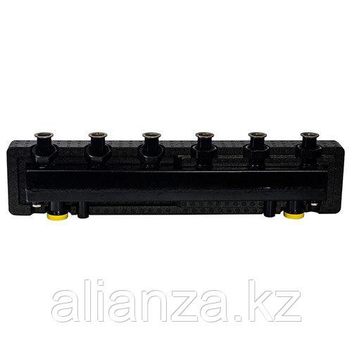 Коллектор котельной разводки STOUT - Ду25 на 3 контура (с гидравлическим разделителем)
