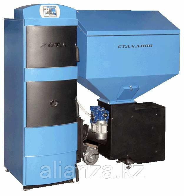 Котел твердотопливный ZOTA Стаханов - 63 кВт (стальной)