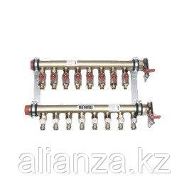 """Коллекторная группа REHAU IVKK - 1""""1/2 на 5 контуров 3/4""""EK (для труб 25x2.3 мм)"""