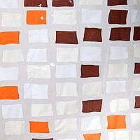 Аквалиния штора для ванной S-C014-2 (кор.мозаика)