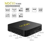 Android 9.0 TV Box с памятью 4GB/32GB на 4х ядерном процессоре RK3328, Модель MX10 (4/32)