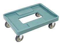 Тележка для термоконтейнера Cambro CD400 401 синевато-серая
