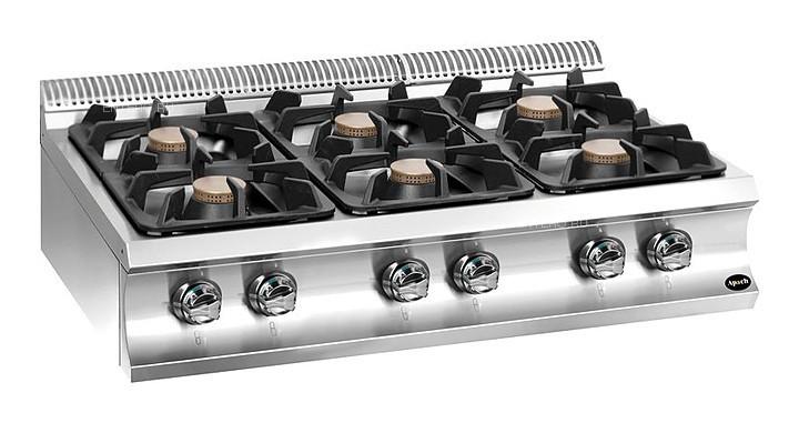 Плита газовая Apach Chef Line GLRRG117
