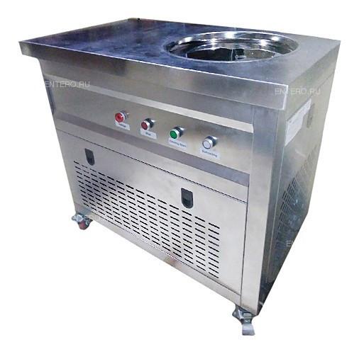 Фризер для жареного мороженого Foodatlas KCB-1Y (контейнеры, стол для топпингов, система контроля температуры)