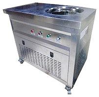 Фризер для жареного мороженого Foodatlas KCB-1Y (контейнеры, световой короб, стол для топпингов)