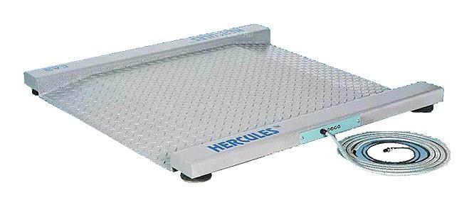 Весы платформенные CAS R-1000