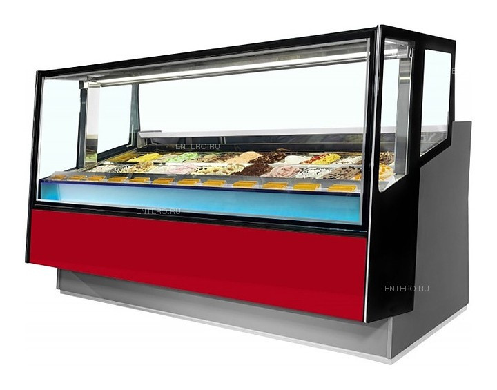 Витрина для мороженого ISA Kaleido 120 A H117