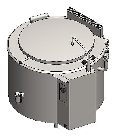 Котел варочный Вулкан ОКГ-150