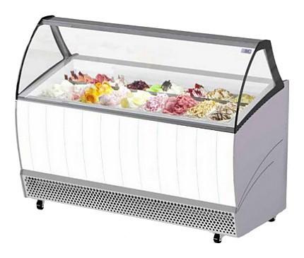 Витрина для мороженого ISA Bermuda 13