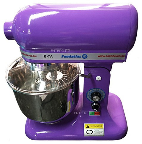 Миксер планетарный Foodatlas B-7A Eco фиолетовый
