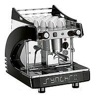Кофемашина Royal Synchro 1GR Semiautomatic Boiler 4LT Motor-Pump inside черная