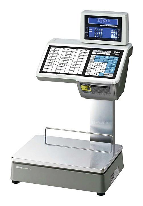 Весы торговые CAS CL5000-15D