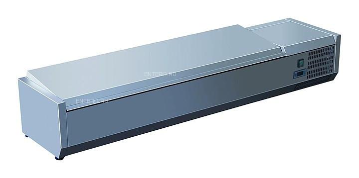 Витрина холодильная GASTRORAG VRX 1600/330 s/s
