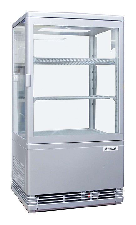 Витрина холодильная Enigma RT-68L White+Digital Controller