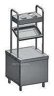 Прилавок для подносов и столовых приборов Rada ПП-2-6/7СХ