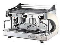 Кофемашина Royal Synchro 2GR SB Semiautomatic Boiler 8LT оранжевая