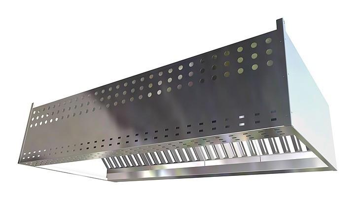 Зонт приточно-вытяжной Gastrolux ЗПВП-1412