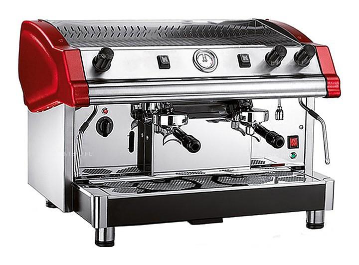 Кофемашина Royal Tecnica 2GR Semiautomatic Boiler 14LT красная