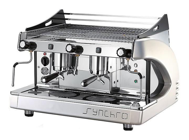 Кофемашина Royal Synchro 2GR Semiautomatic Boiler 14LT оранжевая