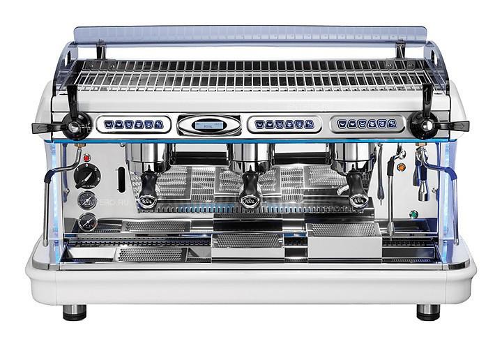 Кофемашина Royal Synchro T2 3GR Semiautomatic Boiler 14LT черно-красная