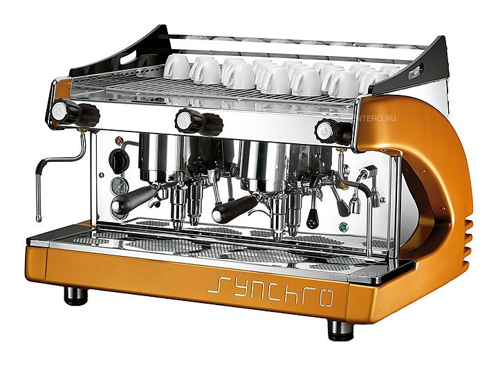Кофемашина Royal Synchro 3GR Lever Dispensing Boiler 21LT белая