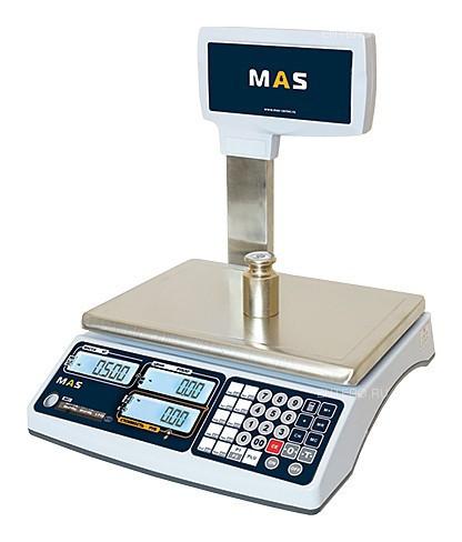 Весы торговые MAS MR1-06P
