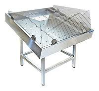 Стол производственный для выкладки рыбы на льду Техно-ТТ СП-612/1102А