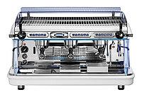 Кофемашина Royal Synchro T2 3GR Semiautomatic Boiler 21LT бело-голубая