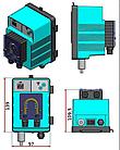 Дозирующий насос MP1-SPEEDY pH (1.8л/ч, 230V), фото 2