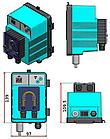 Дозирующий насос MP1-SPEEDY Rx (1.8л/ч, 230V), фото 2