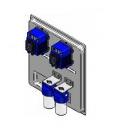 Насос мембранный с прибором MICRODOS ME3 PH/RX (10л/ч, 230V), фото 2