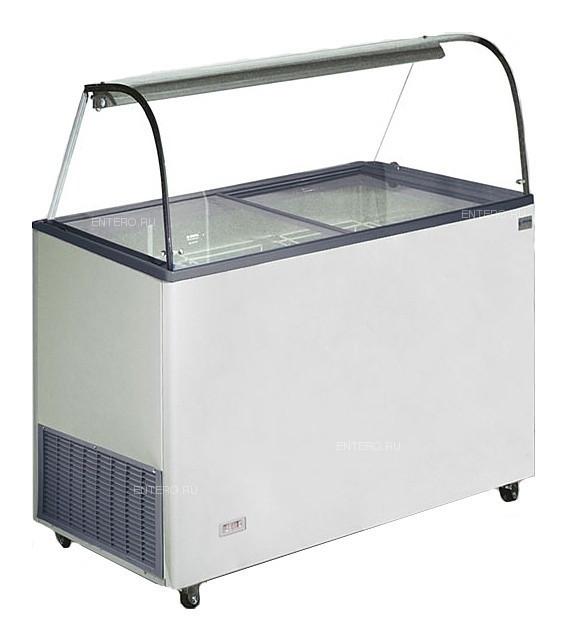 Витрина для мороженого CRYSTAL VENUS 36 VETRINE без дверцы